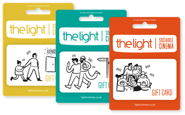 The Light Cinema Gift Card range